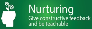 Nurturing : Give Constructive Feedback & be Teachable