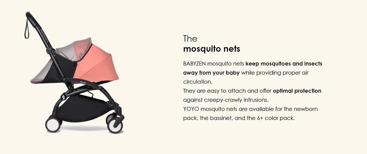 Chair - Babyzen YOYO 0+ Bassinet Insect Shield